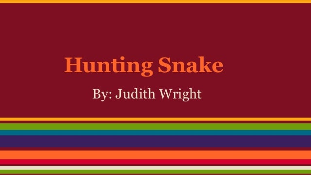 the poetry of judith wright essay Free term paper on judith wright's poetry available totally free at planet paperscom, the largest free term paper community.