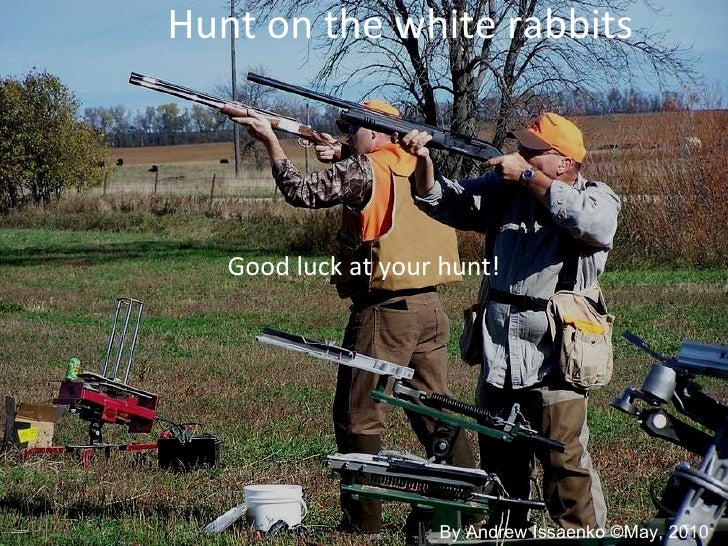 Hunt On The White Rabbit 10 A Eng