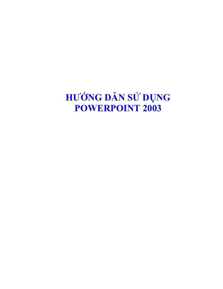 Huong dan sd power point[bookbooming.com]