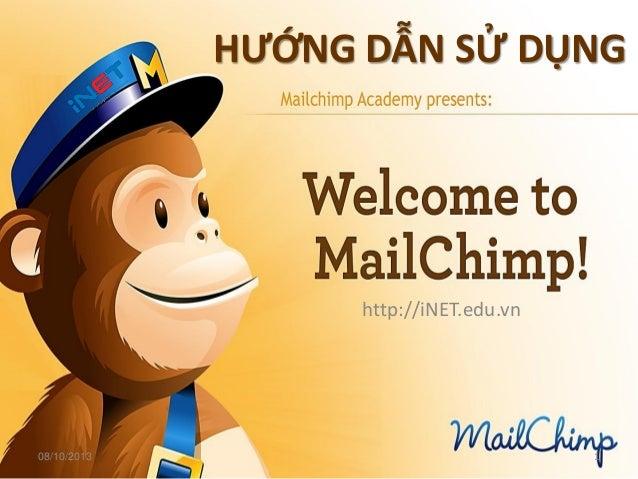 Hướng dẫn sử dụng Mailchimp