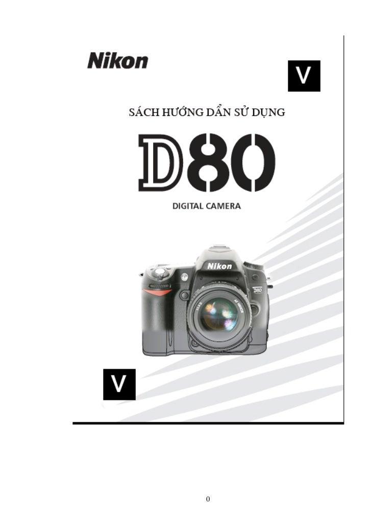 Hướng dẫn sử dung Nikon_d80