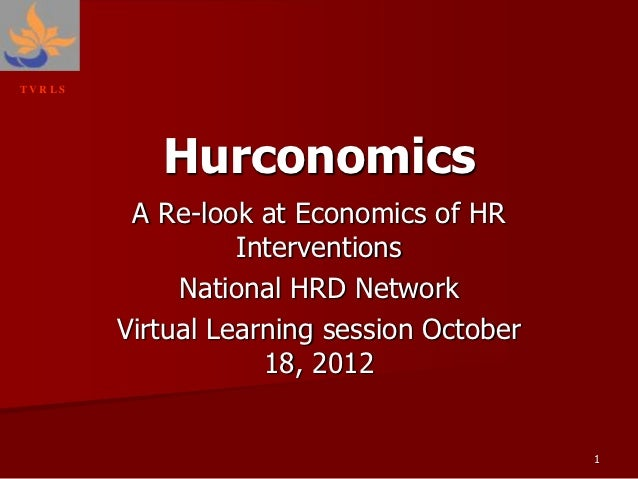 Hurconomics: HR Economincs
