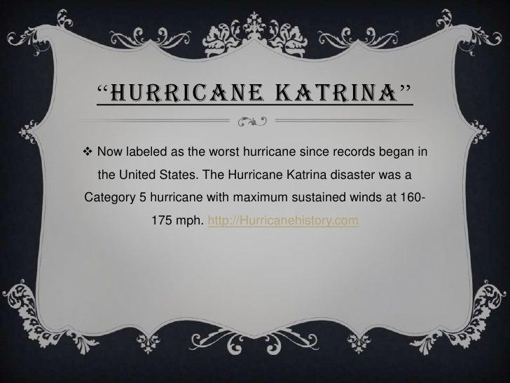 Hurricane katrina powerpoint