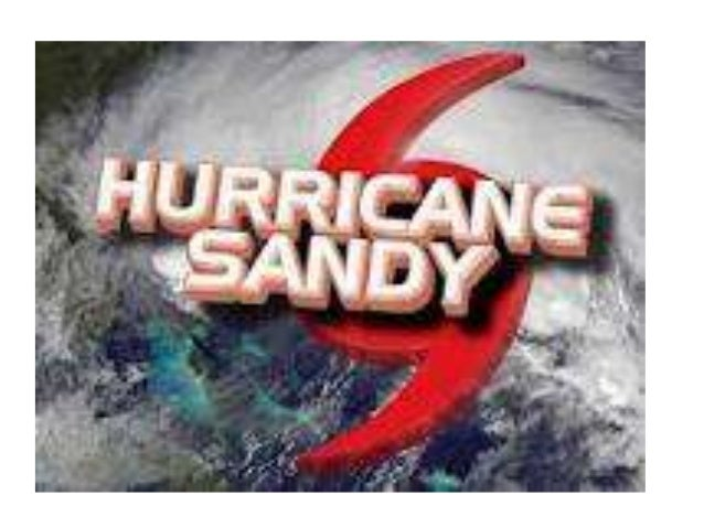 Hurricane Sandy is the          biggestAtlantic storm in history!                    Sandy's center                    was...