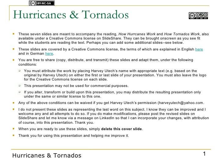 Hurricanes & Tornados