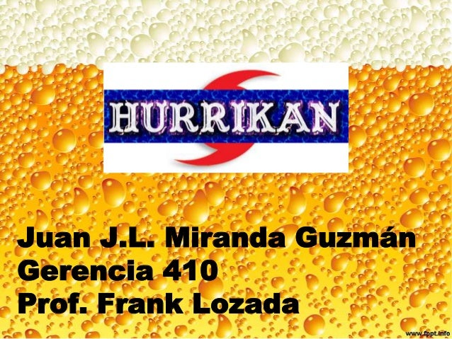 Hurrikan: cerveza de Puerto Rico para Alemania