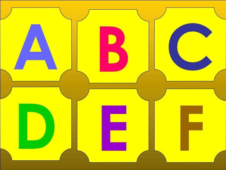 A B CD E F
