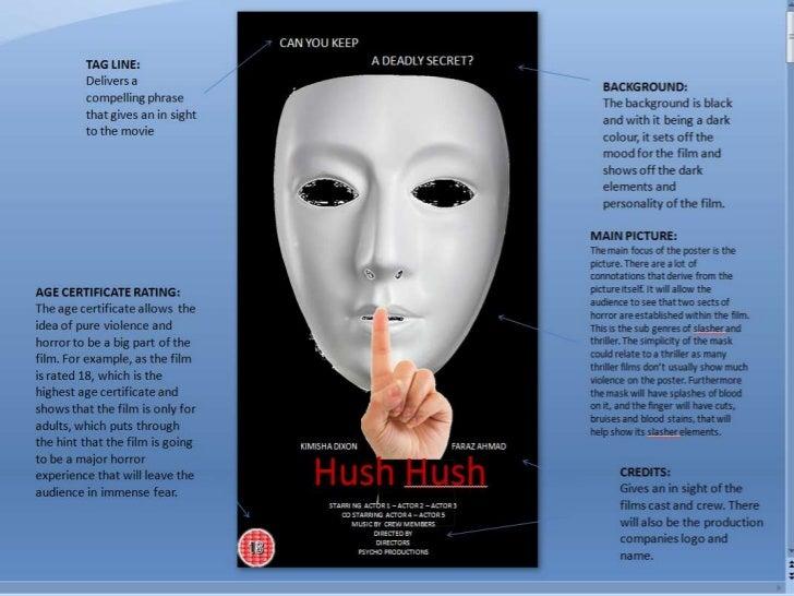 Hush hush presentation
