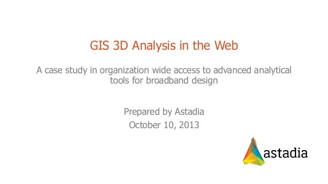 2013 Enterprise Track, 3D Spatial Analysis in the Web by Brady Hustad and Cherie Jarvis