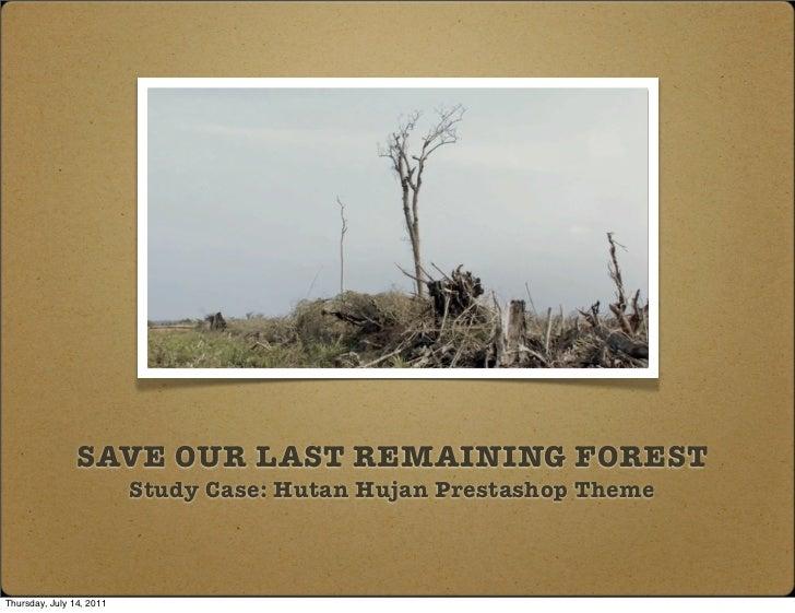 Hutan hujan prestashop   study case