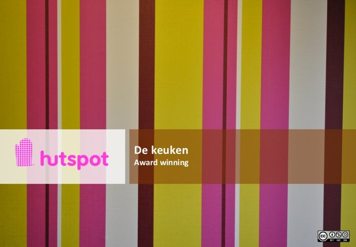 De keuken van Hutspot: award winning