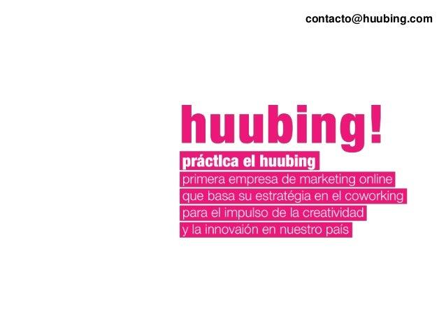 contacto@huubing.com