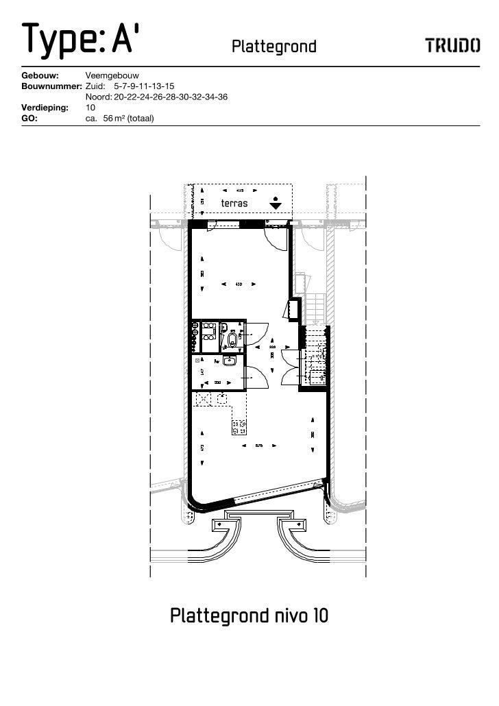 Technische Tekeningen Veemgebouw | Huurwoning