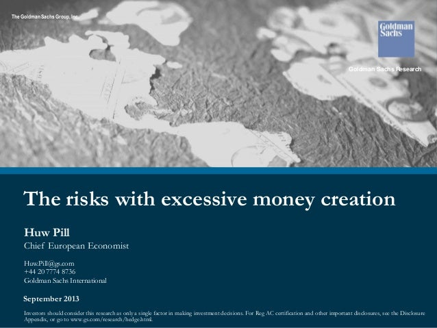Huw Pill - The risks with excessive money creation
