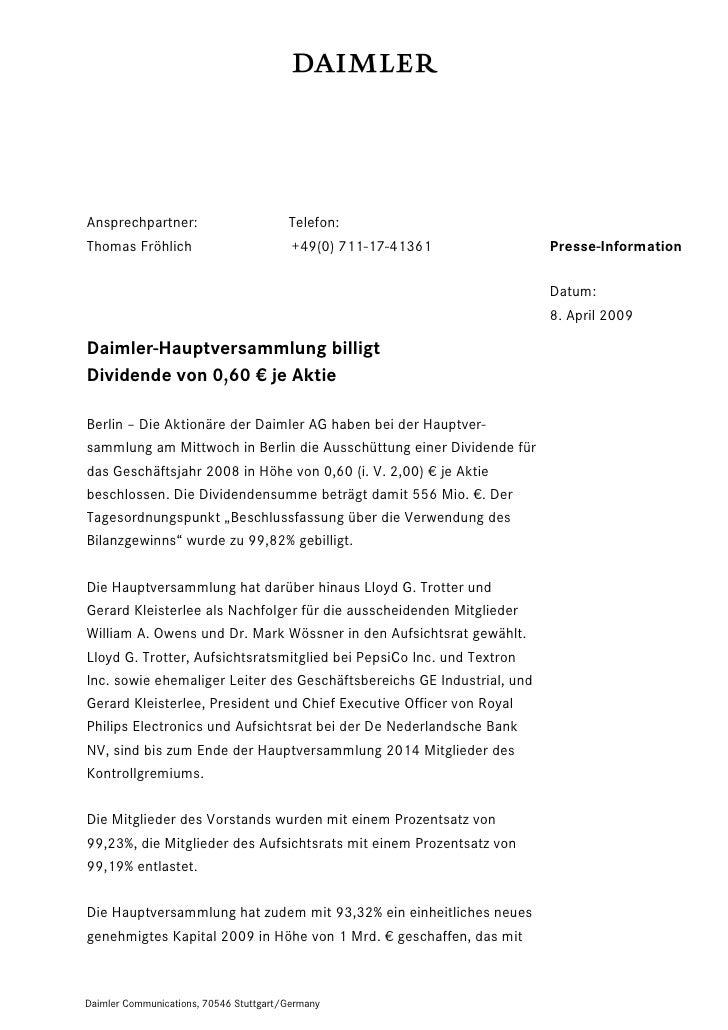 Ansprechpartner:                        Telefon:Thomas Fröhlich                         +49(0) 711-17-41361             Pr...