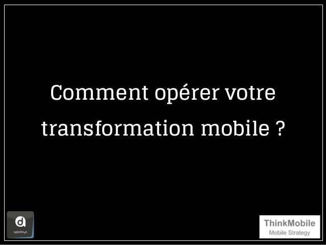 Comment opérer votre transformation mobile ?