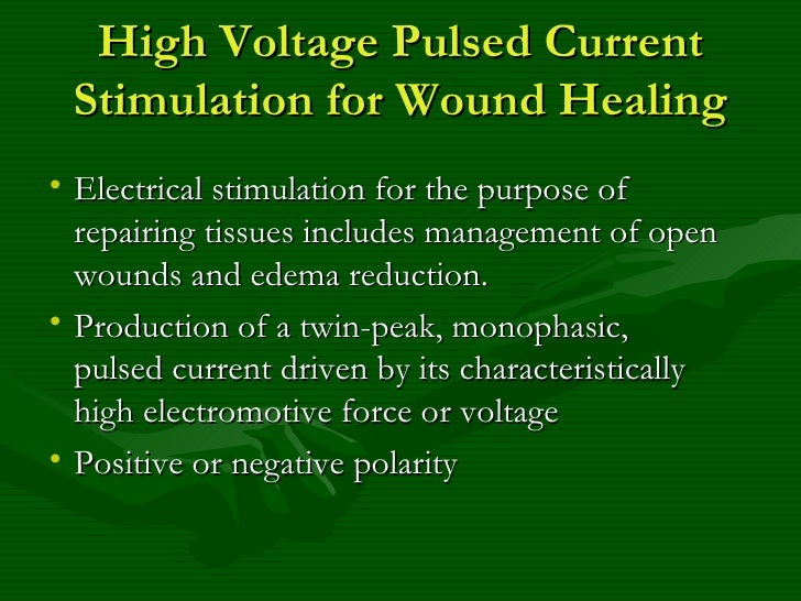the stimulation of the wound healing Non healing wound & ulcer electrical stimulation electrotherapy device for all  wound & ulcers treats infection faster healing clinic & home treatment.