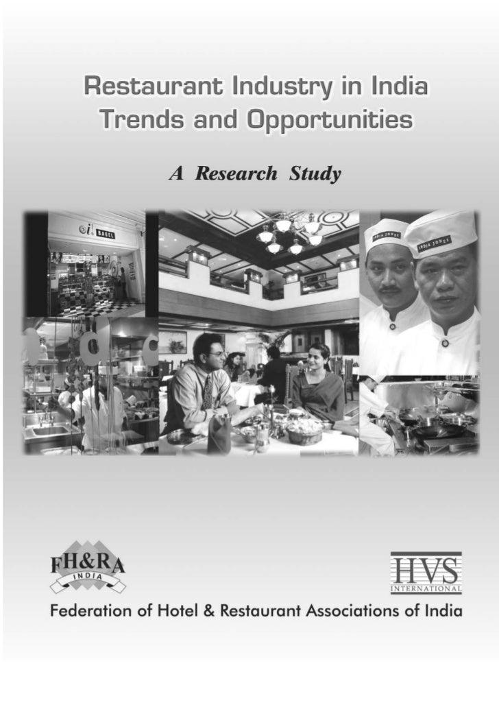 Hvs   restaurant industry in india - trends  opportunities