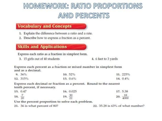 Help maths homework ratio