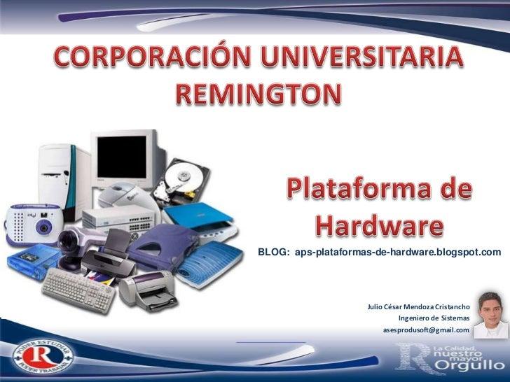 Hw00   plataform de hardware
