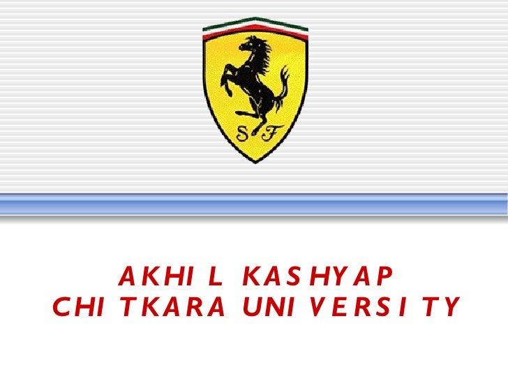 AKHIL KASHYAP CHITKARA UNIVERSITY