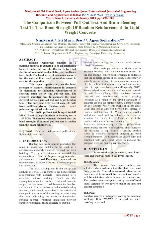 Nindyawati, Sri Murni Dewi, Agoes Soehardjono / International Journal of Engineering            Research and Applications ...