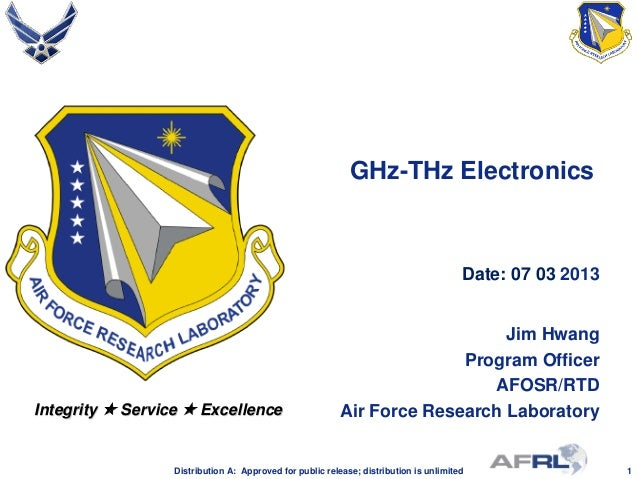 Hwang - GHz-THz Electronics - Spring Review 2013