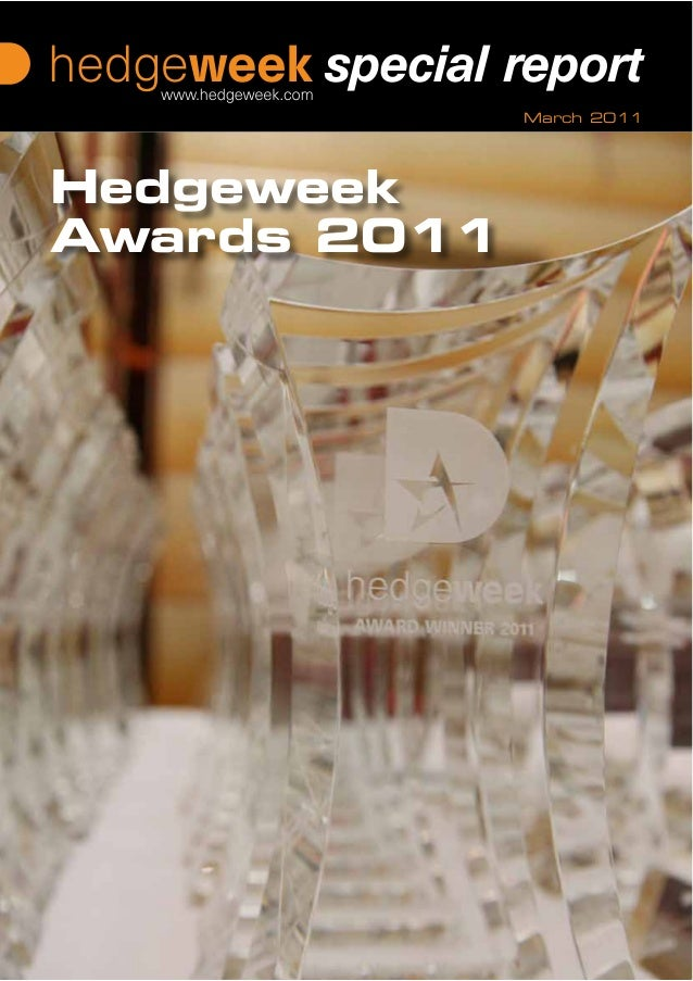 March 2011 Coverline 1 Coverline 2 Coverline 3 Hedgeweek Awards 2011