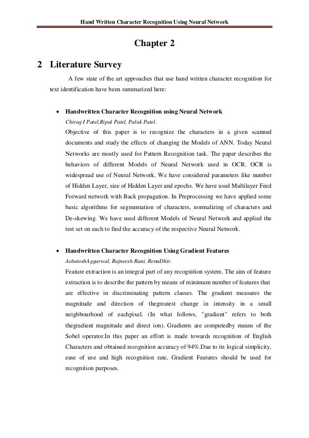 term paper neural networks State of the art on neural network research applied to electrical engineering   these papers cover all major topics of the engineering designs and applications .