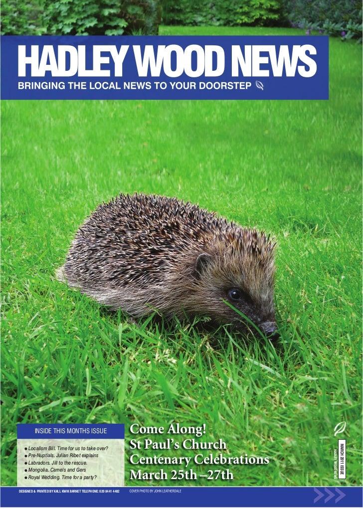 Hadley Wood News March 2011 web