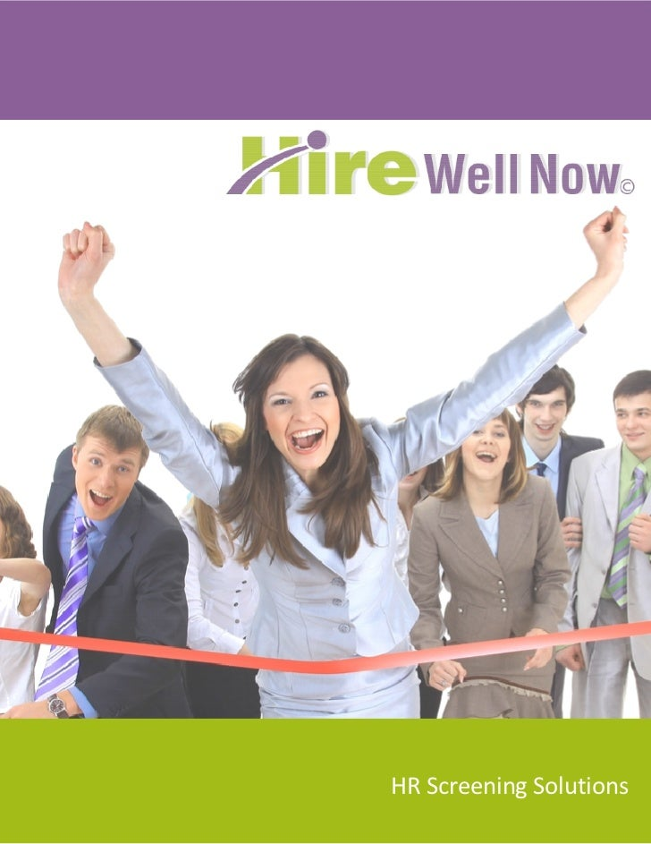 Hire Well Now\'s Solutions Whitepaper