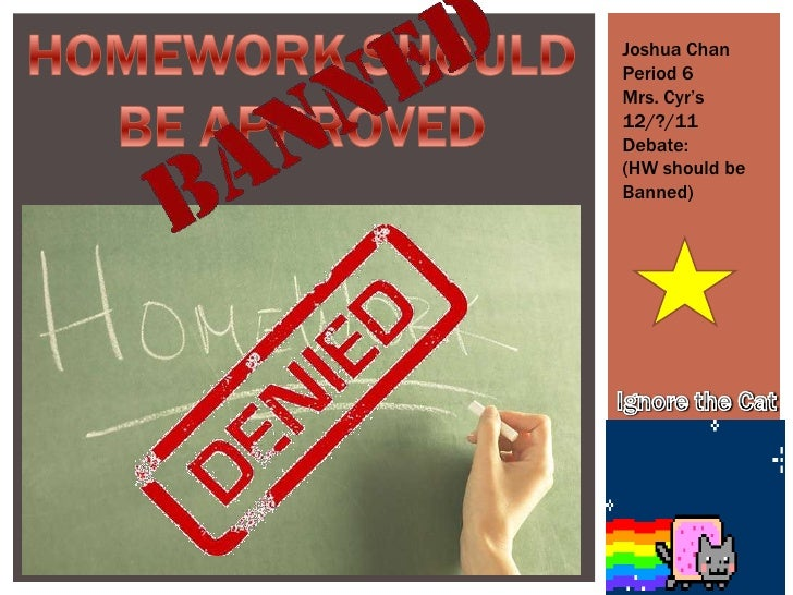 why homework should be banned reasons