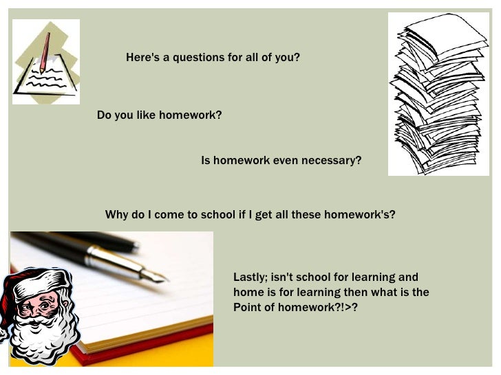 Should schools ban homework