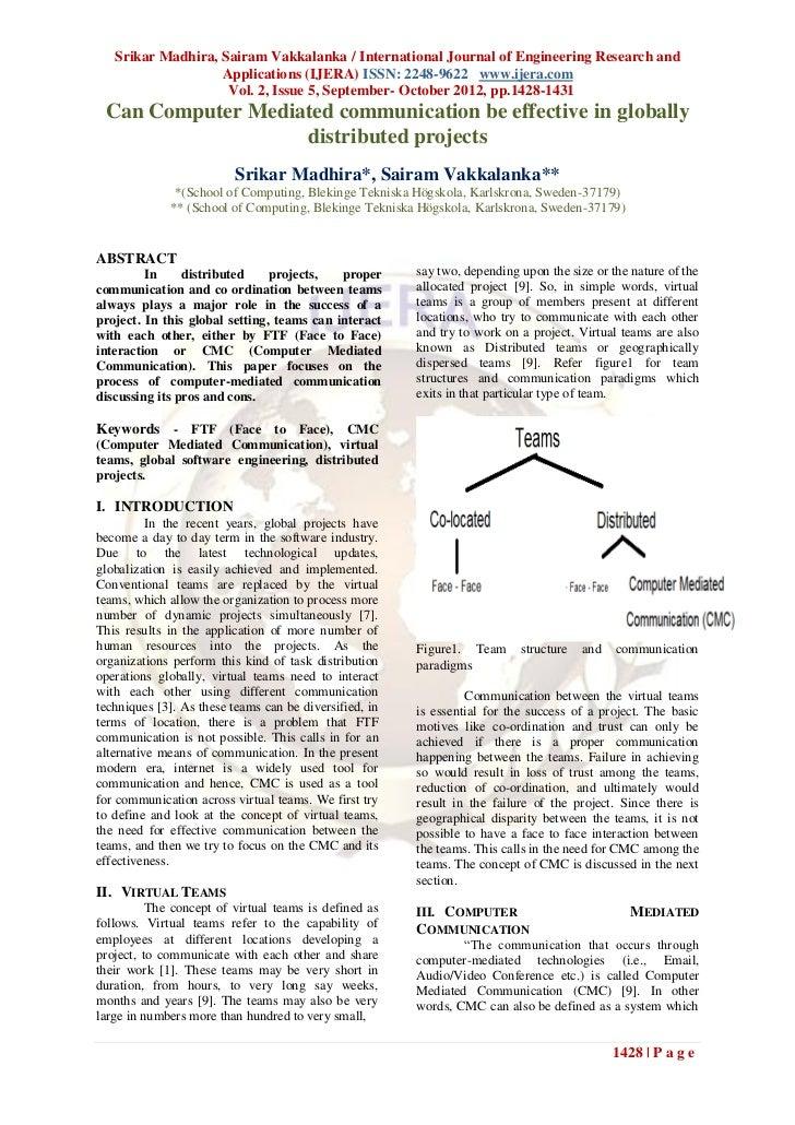 Srikar Madhira, Sairam Vakkalanka / International Journal of Engineering Research and                   Applications (IJER...
