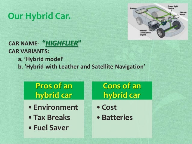 classifications of hybrid electric vehicles essay