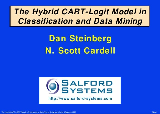 The Hybrid CART-Logit Model in               Classification and Data Mining                                               ...