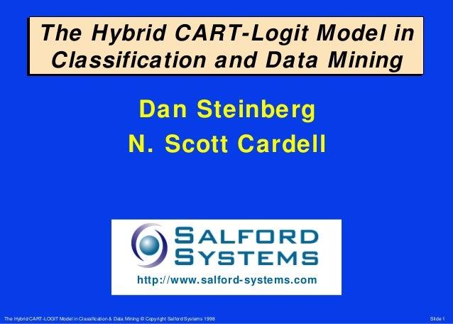 Hybrid cart logit model 1998