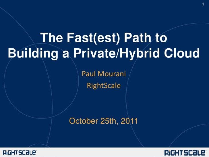 Building a Hybrid Cloud