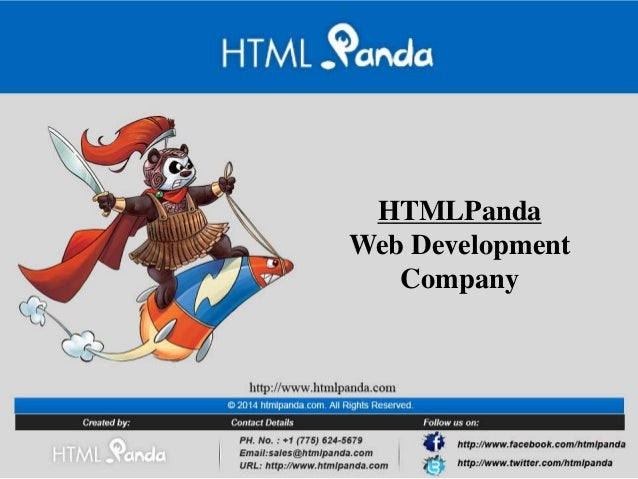 HTMLPanda Web Development Company