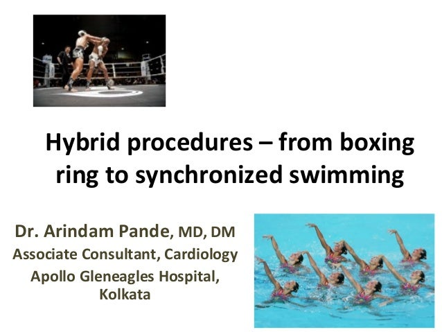 Hybrid procedures – from boxing ring to synchronized swimming Dr. Arindam Pande, MD, DM Associate Consultant, Cardiology A...