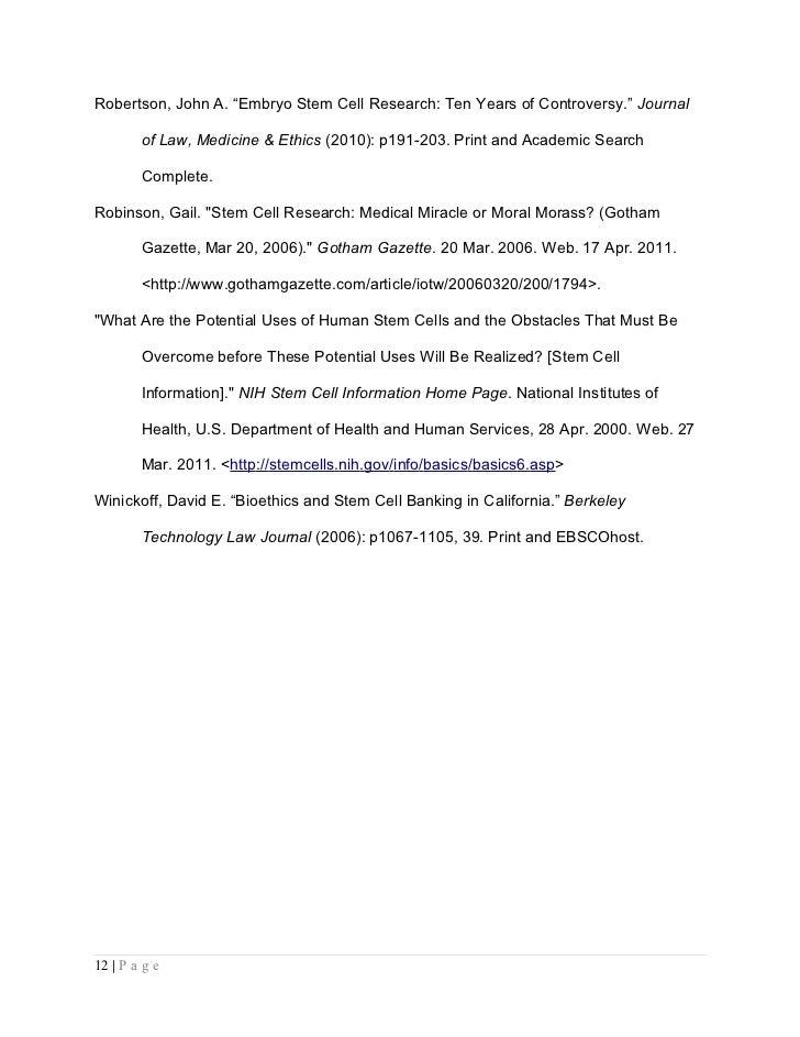 Human services argumentative essay