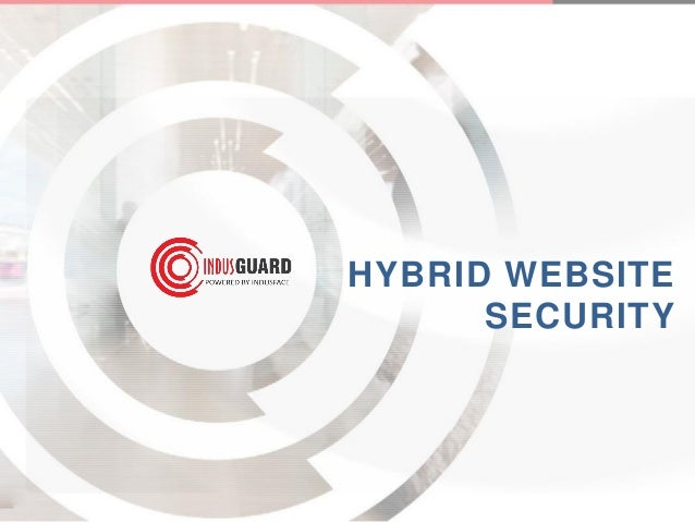 Hybrid website security from Indusface