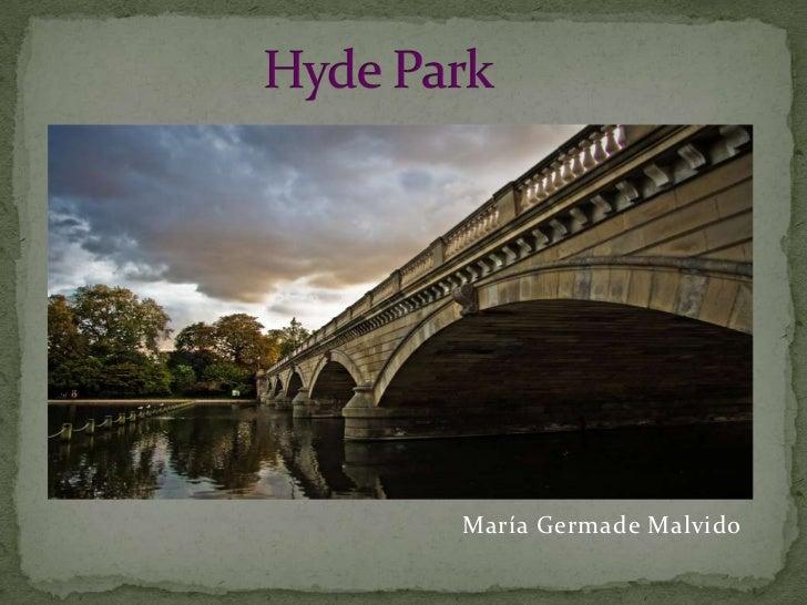 """""""Hyde park"""" by María Germade"""