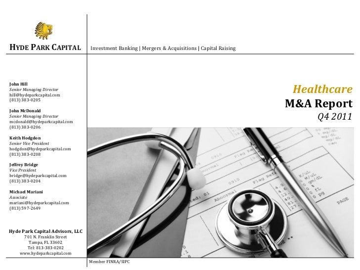 Q11 Healthcare Report
