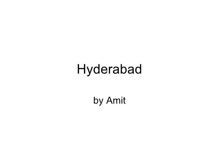 Hyderabad Trip