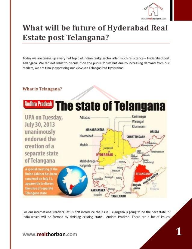 Hyderabad Real Estate Post-Telangana