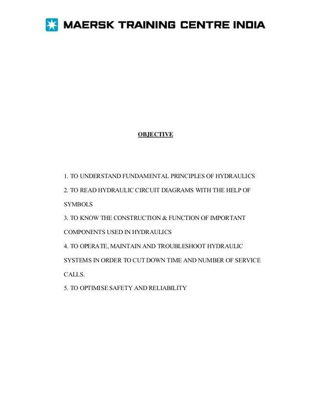 Hydraulic course manual
