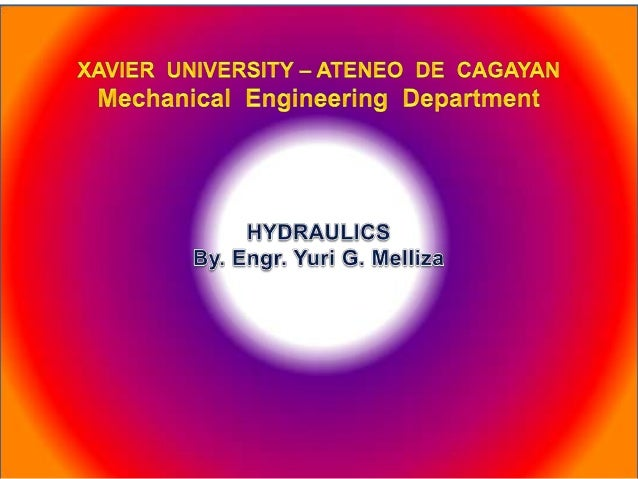 Hydraulics for engineers