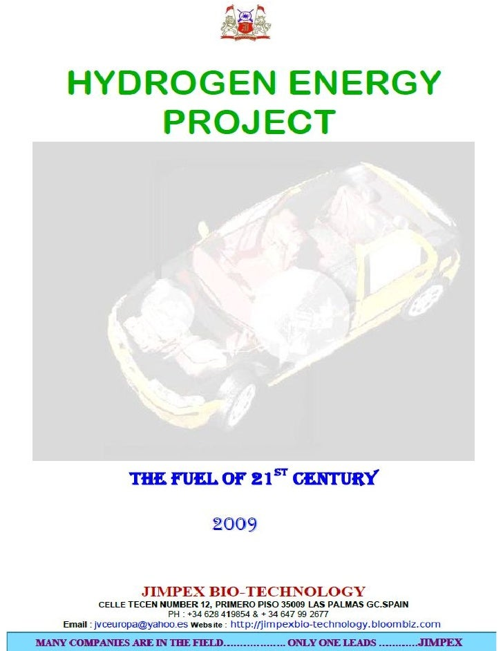 SOLVING GLOBAL WARMING BY HYDROGEN ENERGY