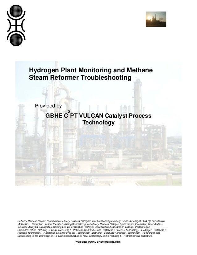 Hydrogen Plant Monitoring & Methane Steam Reformer Troubleshooting